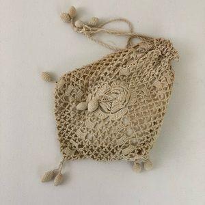 Handbags - Victorian Crocheted Wristlet